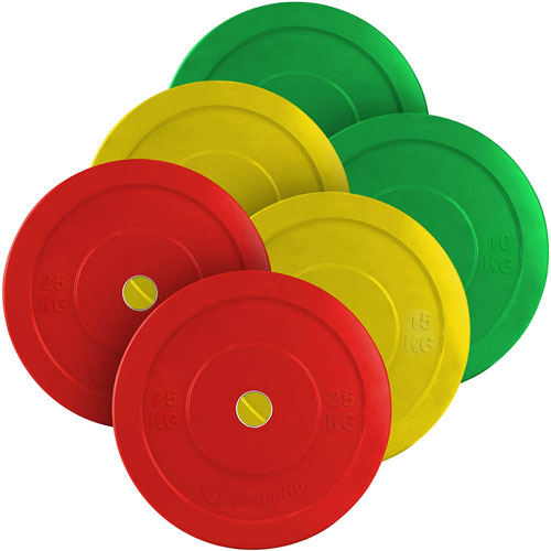 """BodyRip 2"""" Olympic Bumper Weight Plates"""