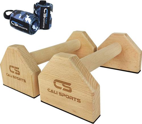 CALI SPORTS Calisthenics Wood Parallettes