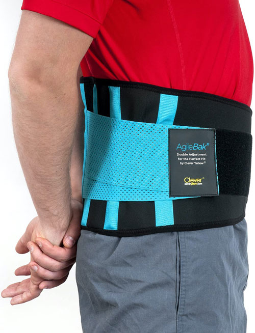 Clever Yellow Back Support Belt