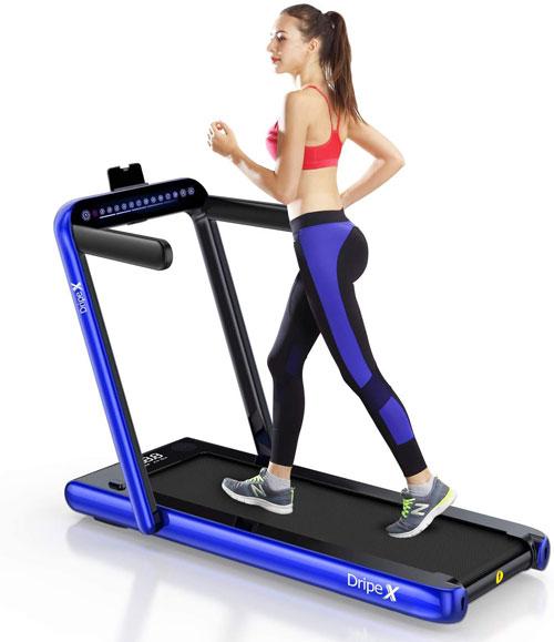 Dripex 2-in-1 Folding Treadmill