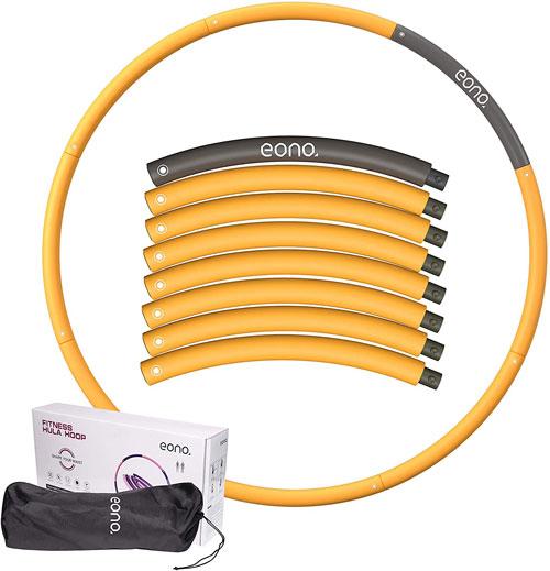 Eono Amazon Brand Weighted Hula Hoop
