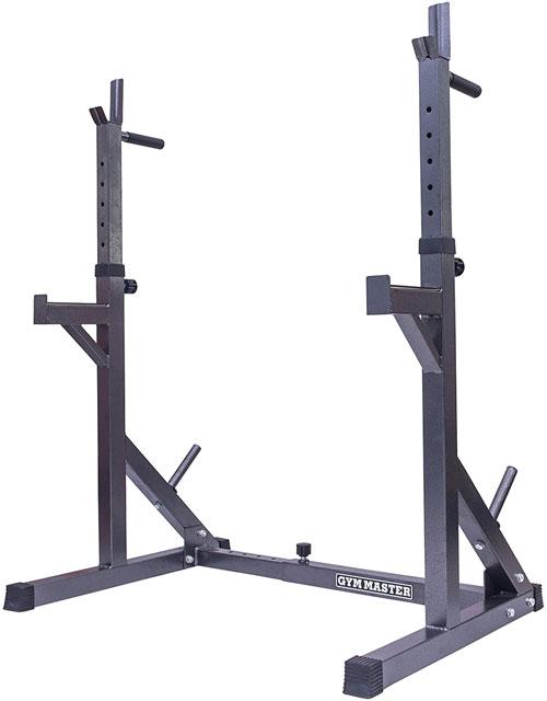 GYM MASTER Adjustable Squat Rack