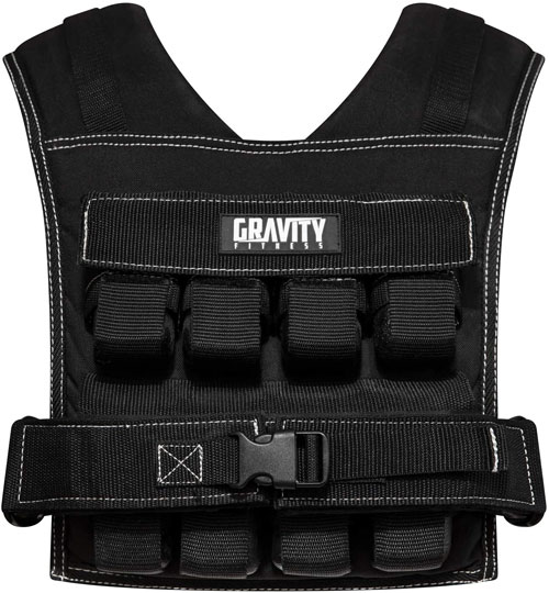 Gravity Fitness 20kg Weighted Vest