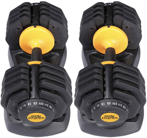 Iron Fitness adjustable dumbbells