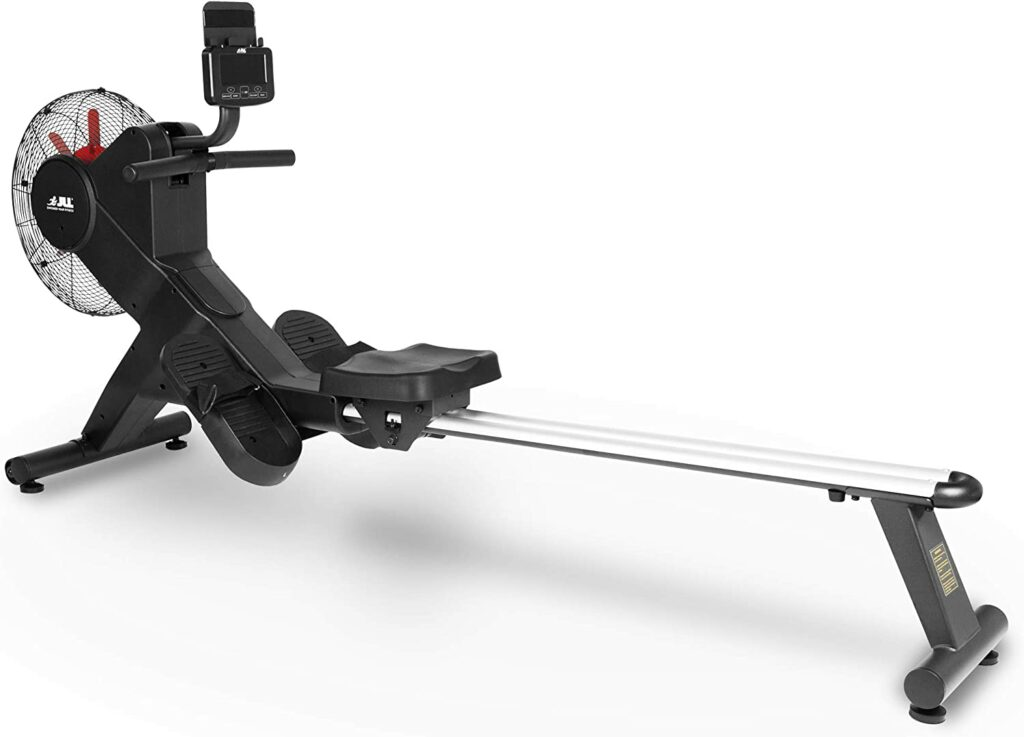 JLL® Ventus 3 Air Resistance Home Rowing Machine