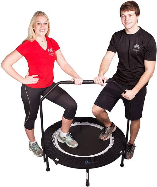 Maximus PRO Folding Rebounder Fitness Trampoline