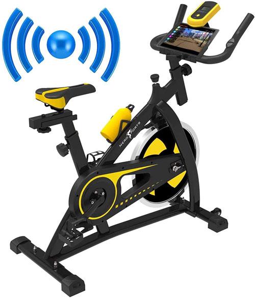 Nero Sports Bluetooth Upright Exercise Bike