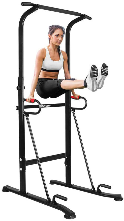 ONETWOFIT Multi Function Power Tower