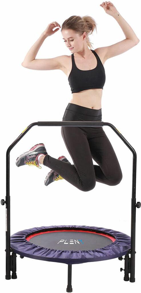 PLENY Indoor Mini Fitness Trampoline