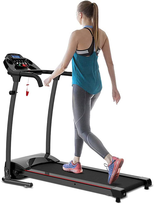 REDLIRO Folding Walking Treadmill