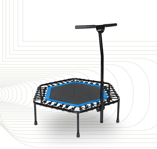 SportPlus Fitness Trampoline with Optional Folding Function