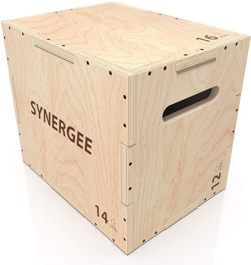 Synergee Wood Plyometric Box