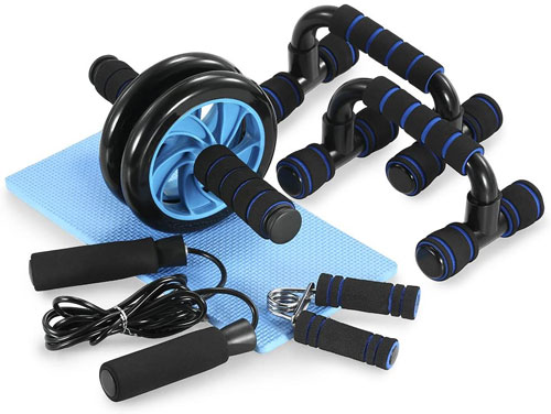 TOMSHOO 5 Pieces Fitness Exercise