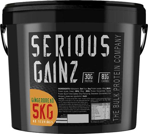 The Bulk Protein Company SERIOUS GAINZ Whey Protein Powder