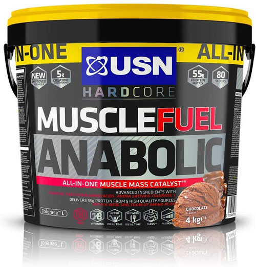 USN Muscle Fuel Anabolic Mass Gainer