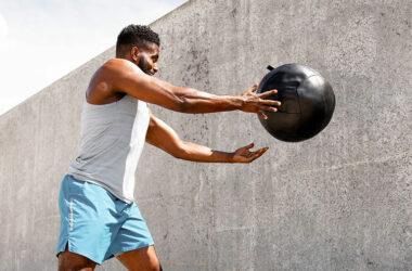 Wall Medicine Ball