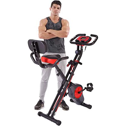 YYFITT-2 In 1 Folding Fitness Exercise Bike