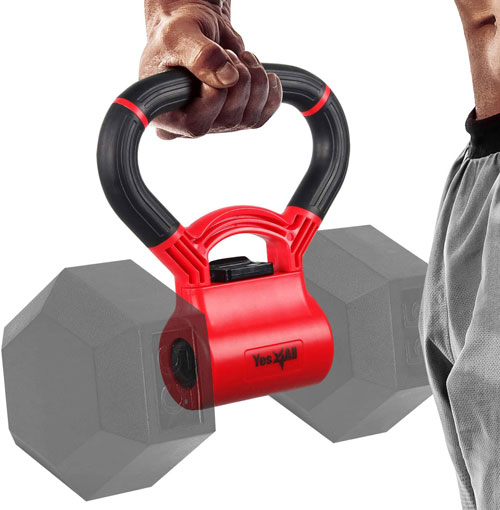 Yes4All Adjustable Kettlebell Grip