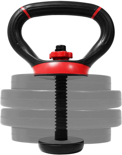 Yes4All Solid Cast Iron Kettlebell