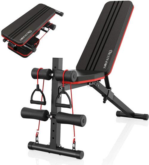 naspaluro Weight Bench Adjustable